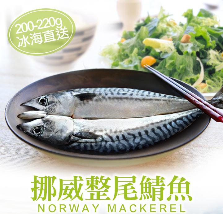 挪威整尾鯖魚200-220g_愛上鮮比臉還要大的牛排