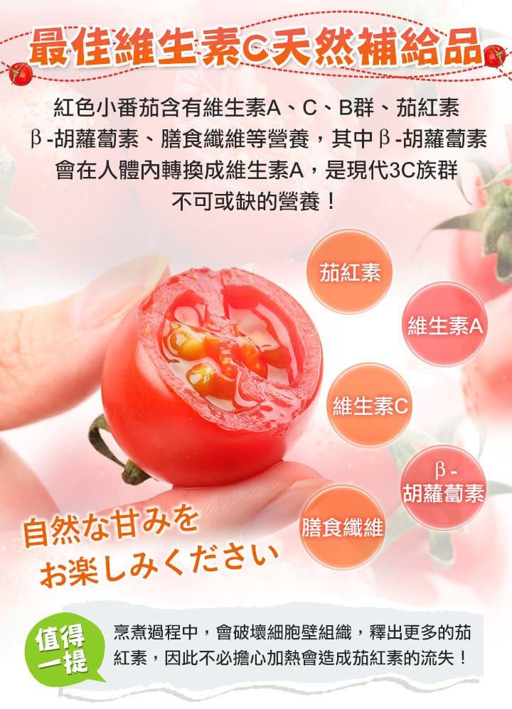 愛上鮮團購美食台南鹽地小番茄