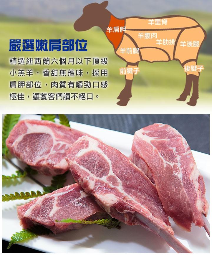 紐西蘭五星級羊小排_愛上鮮比臉還要大的牛排