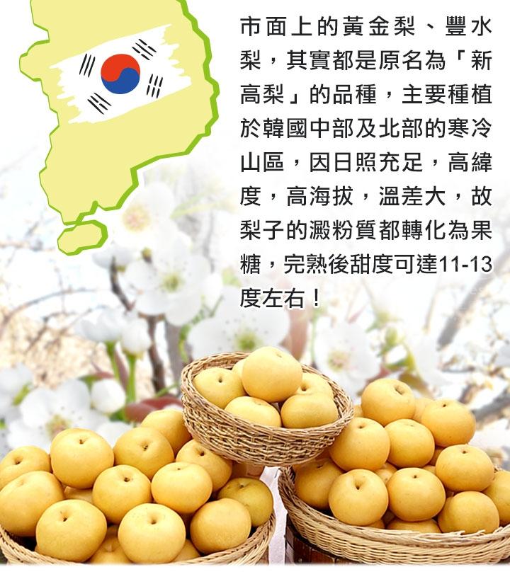 愛上鮮團購美食 韓國原裝直送新高梨