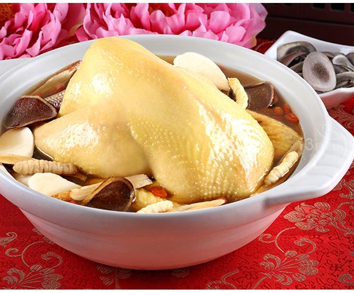 鹿茸冬蟲御饌煲雞湯(全雞)