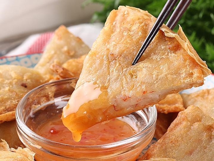 黃金手工月亮蝦餅