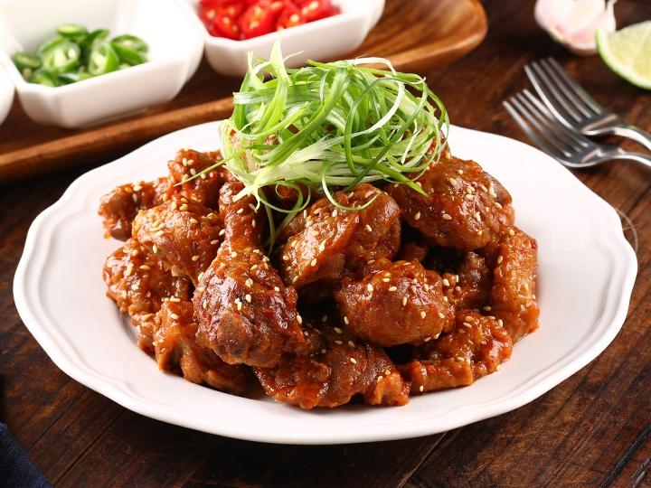 韓式春川辣炒雞腿