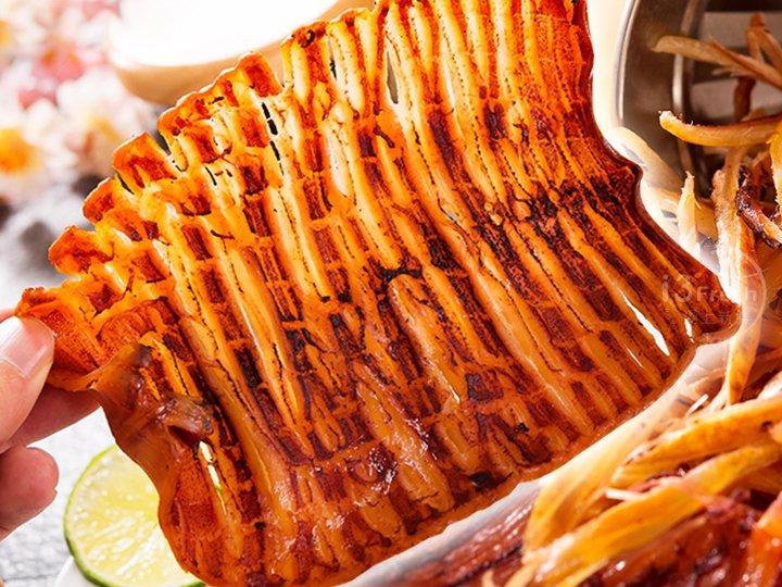 韓式頂鮮烤魷魚片