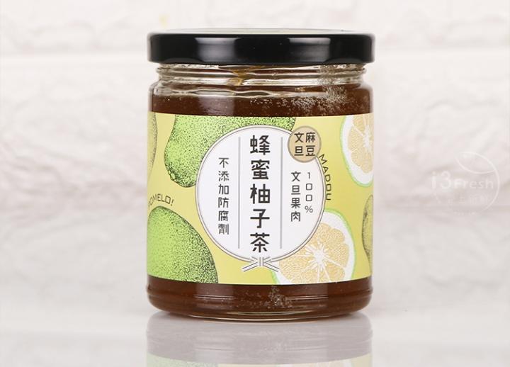 台南農產麻豆蜂蜜柚子茶