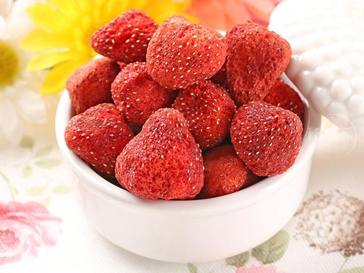 鮮凍草莓脆果