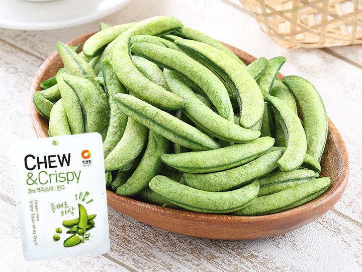 韓國輕烘焙香脆豌豆