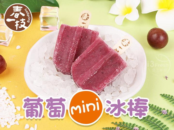 春一枝-葡萄mini冰棒