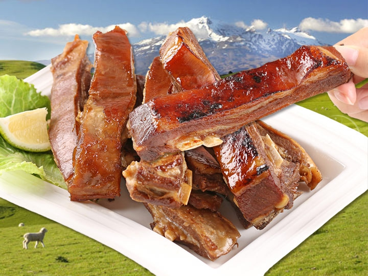 紐西蘭炭烤羊肋排