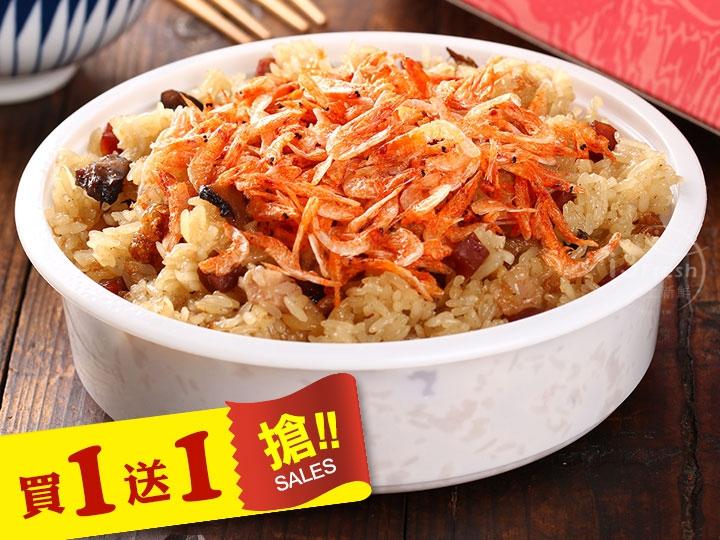 海霸王櫻花蝦米糕