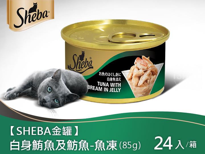 SHEBA金罐 白身鮪魚及魴魚(魚凍)