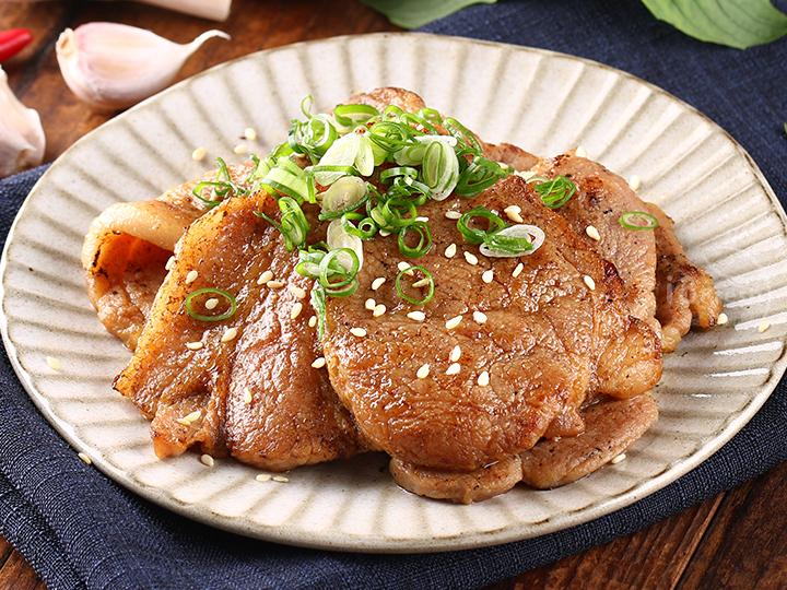 日式梅花燒肉片
