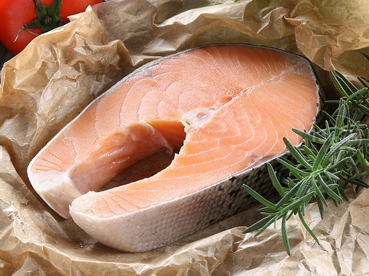 智利鮮嫩鮭魚切片