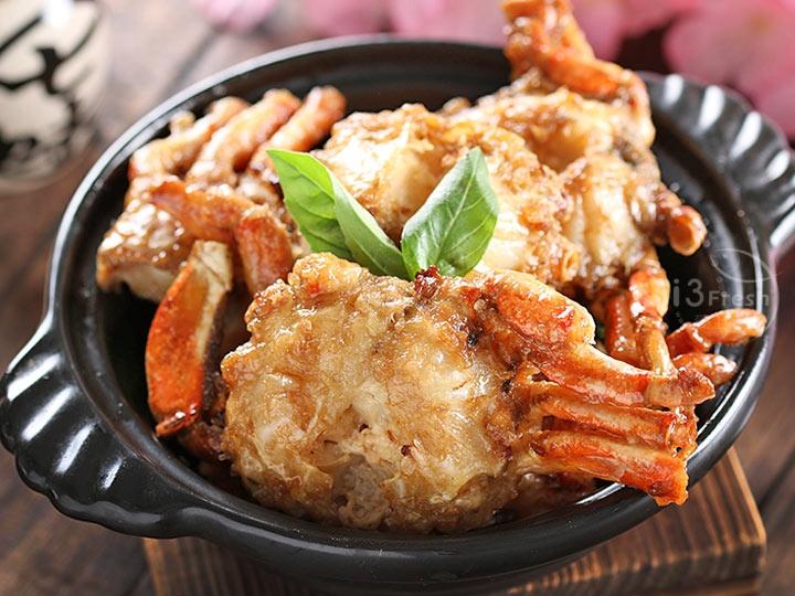 東海鮮甜花蟹身