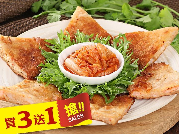 韓式手工泡菜蝦餅
