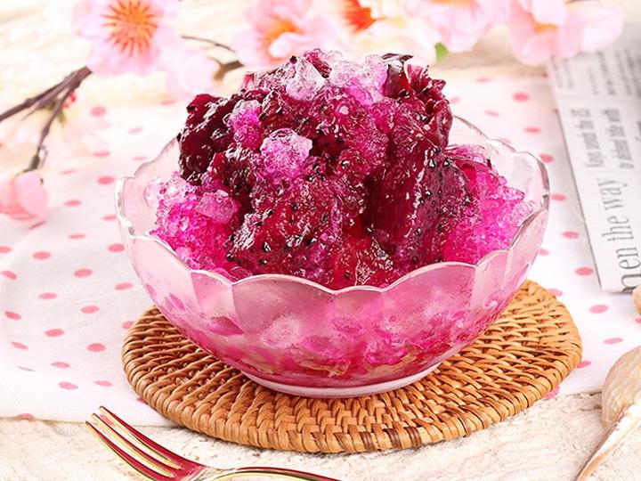 玫瑰火龍果鮮果冰釀