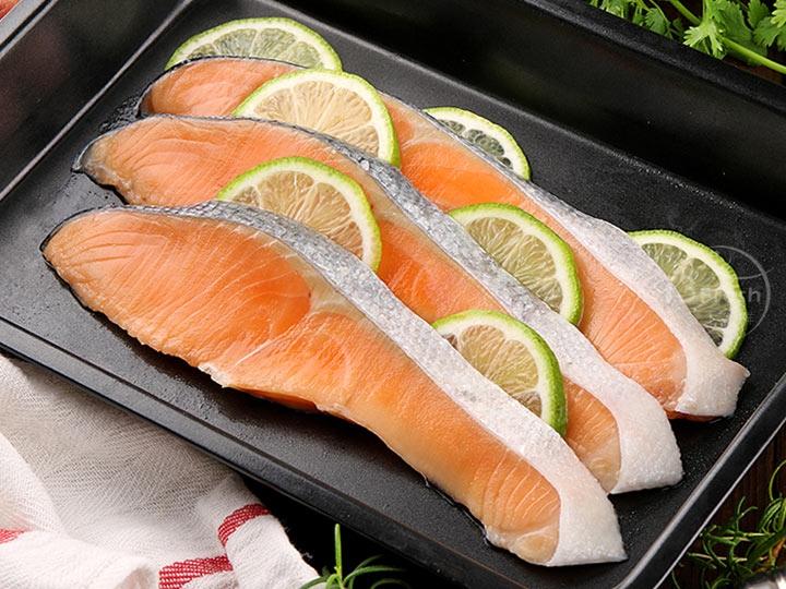 智利薄鹽鮭魚片